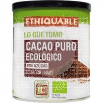 Cacao polvo Puro Bio Lata IDeas Ethiquable