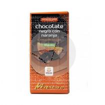 Chocolate Mascao Negro 58% con Naranja Bio Ideas