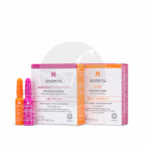 Ampolla flash peeling+luminosidad Sesderma