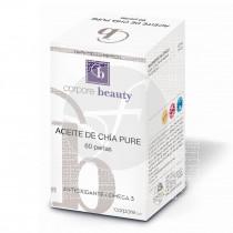 Aceite de Chía Pure 60 perlas Corpore Beauty