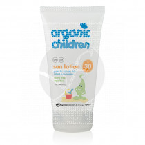 Locion Solar Niños Spf30 sin Perfume Organic Green People