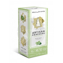 ARTISAN CRACKERS CON ALBAHACA VEGAN PAUL & PIPPA