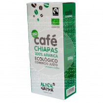 Cafe Molido Chiapas Arabica Bio Comercio Justo Alternativa3