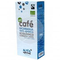 Cafe Molido Nicaragua Arabica Bio Comercio Justo Alternativa3