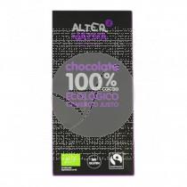 Chocolate 100% Cacao Ecológico Comercio Justo Alternativa3