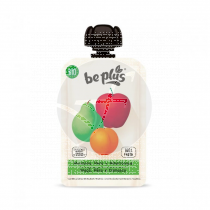 Bebible manzana pera y albaricoque Sin Gluten Be Plus