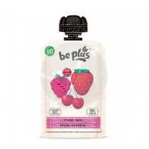 Bebible Frutos Rojos Bio Sin Gluten 100gr Be Plus