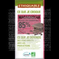 Chocolate Extra Negro 85% Bio Ethiquable