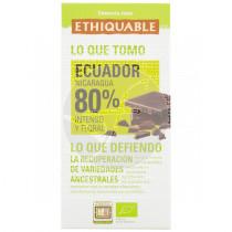 Chocolate Extra Negro 80% Bio Ethiquable
