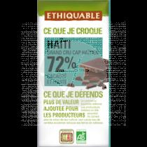 Chocolate Negro Bio 72% Haiti Ethiquable
