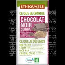 Chocolate Negro Quinoa Bio Ethiquable