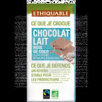 CHOCOLATE LECHE COCO BIO 100GR ETHIQUABLE