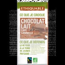 CHOCOLATE CAFE CANELA BIO ETHIQUABLE