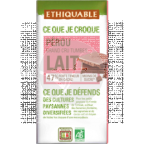 CHOCOLATE LECHE CACAO 47% BIO ETHIQUABLE