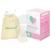 Copa Menstrual Blanca S Mimacup