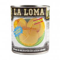 Melocotón En conserva sin Azúcares La Loma
