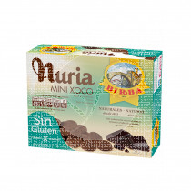 Galletas Mini Choco sin gluten 200Gr Nuria