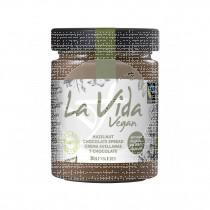 Crema de avellanas y chocolate bio 600gr La Vida Vegan