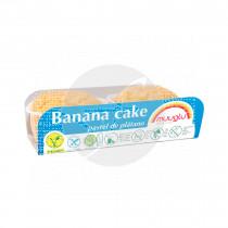 BANANA CAKE SIN GLUTEN VEGANO MUUGLU