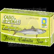 Filetes De Caballa Del Sur En Aceite De Oliva Eco Cabo De Peñas