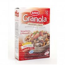 Granola Muesli con Fresas y Almendras sin gluten Emco