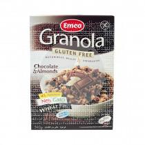 Granola Muesli con Chocolate y Almendras sin gluten Emco