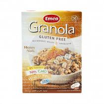 Granola Muesli con Miel y Nueces sin gluten Emco
