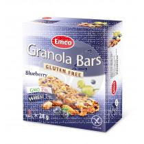 Barritas De Cereales con Arándanos sin gluten Emco