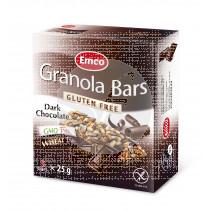 Barritas De Cereales con Chocolate Negro sin gluten Emco