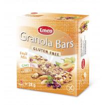 Barritas De Cereales Fruit Mix sin gluten Emco