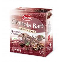 Barritas De Cereales con Cereza y Chocolate sin gluten Emco