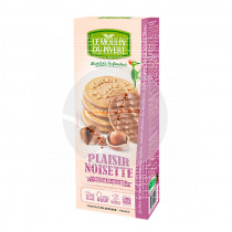 Galletas Placer De Chocolate con Leche y Avellanas Bio Le Moulin De Pivert