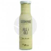 Salsa All I Oli Ecologica sin gluten Vegana Sesmans Organic