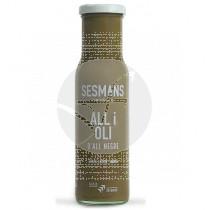 Salsa All I Oli De Ajo Negro Ecologica sin gluten Vegana Sesmans Organic