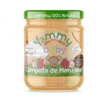 POTITOS BABY SABOR COMPOTA DE MANZANA + OMEGA 3 BIO YAMMY