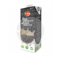 Bebida vegetal de arroz negro sin gluten bio Vivibio