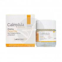 Crema Facial Día Calendula con Colágeno Marino y Vitamina E Laboratorio Sys