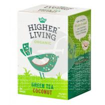 Infusion Te verde Coco Bio Higher Living