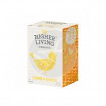 Infusión De Jengibre y Limón Bio Higher Living