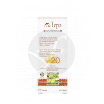 CREMA SOLAR PROTECCION MEDIA SPF20 LEPO