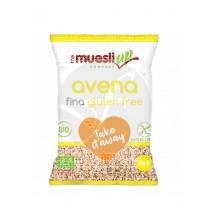 Copos De Avena Finos Monodosis Bio sin gluten Vegano Muesli Up