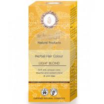 TINTE NATURAL HERBAL HAIR COLOR RUBIO CLARO KHADI