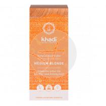 Tinte natural rubio medio 100% vegetal Khadi