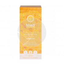 Tinte natural rubio amanecer miel 100% vegetal Khadi