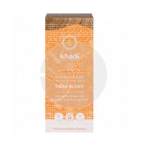 Tinte natural rubio oscuro 100% vegetal Khadi