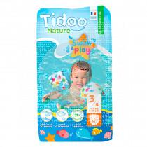 Pañales Para Baño T3 (4-9Kg) Eco Tidoo Nature