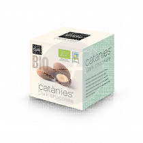Catanies de chocolate negro bio Cudié