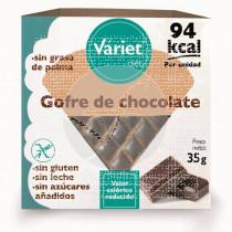 GOFRE DE CHOCOLATE SIN AZUCAR Y SIN GLUTEN VARIET DIET