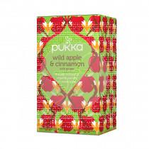 Infusión De Manzana y Canela con Jengibre Bio Pukka