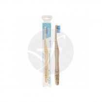 Cepillo dental de bambú adultos azul Nordics Oral Care